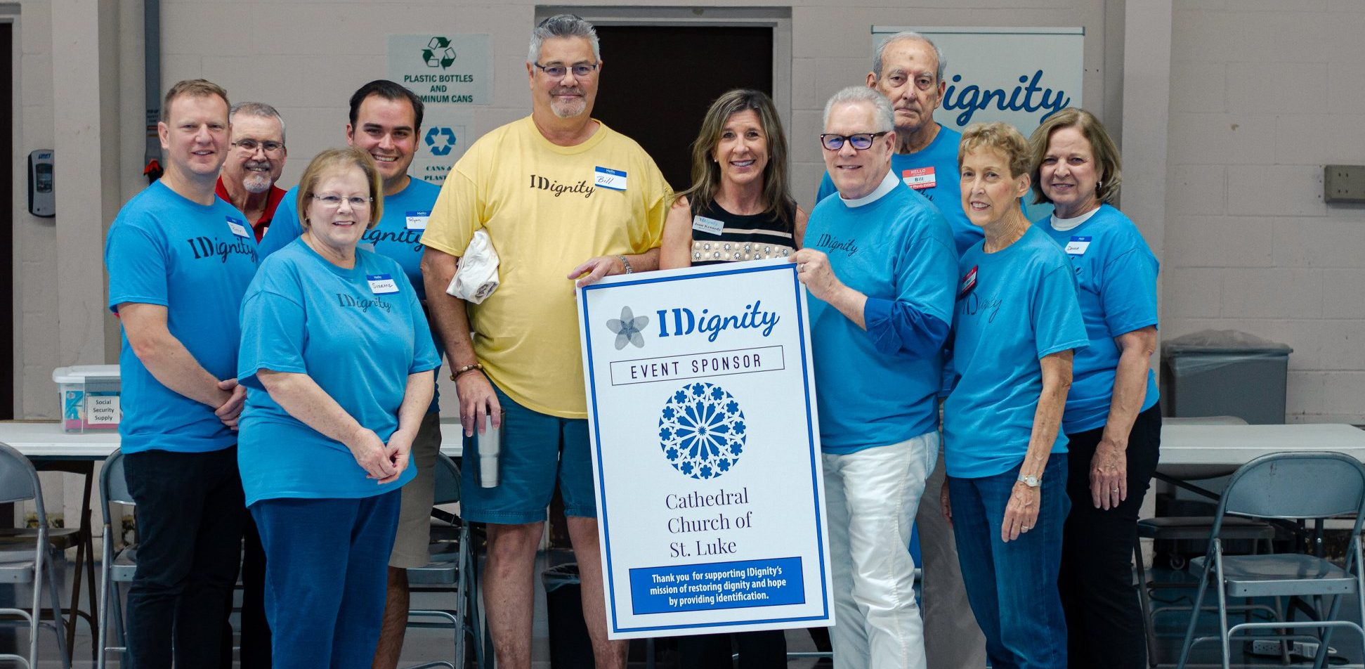 Cathedral Church of St Luke sponsors IDignity
