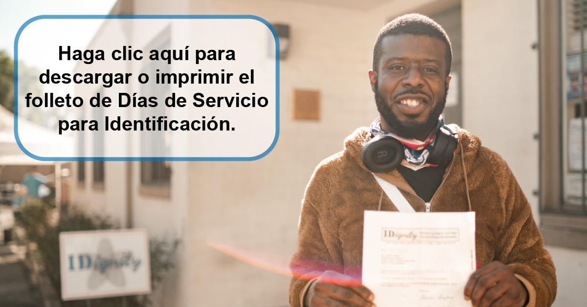 Spanish Flyer Button - IDignity Website
